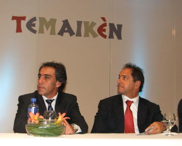 Guzmán acompañó al gobernador en Temaikén.