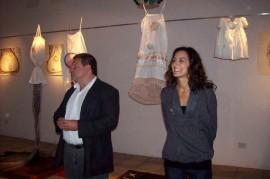 Gustavo Issetta y Brenda Vallier