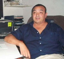 Carlos Rombolá, el director desplazado de la Técnica (foto: DIA 32).