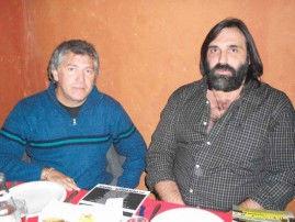 """Roberto Baradel y """"Yiyo"""" Martínez"""