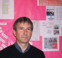 Ricardo Ibarra, titular y candidato del GEN.
