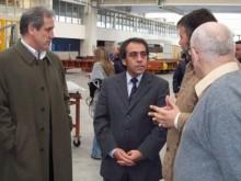 Empresarios dialogan con Guzmán.