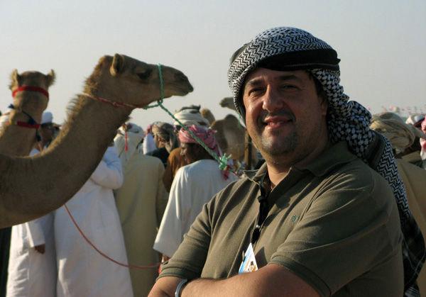 Fernando Moura, en 2008, en el Camelódromo de Dubai.