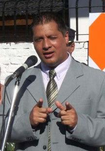 Hugo Cantero, secretario de Gobierno.