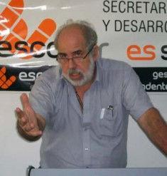 Alejandro Peralta, director de Epidemiología.