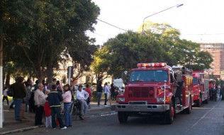 Los bomberos, en Belén, organizaron varios paseos.