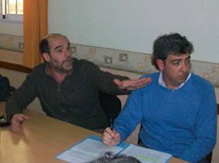 Edgardo Pacentrilli y Hernán González (CCISE).