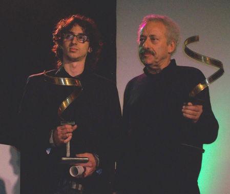 Juan José Jusid premió al joven de San Luis.
