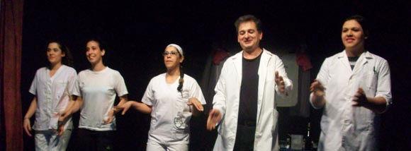 La comedia que dirige Norma Osterwalder abrió el encuentro con una gran actuación.