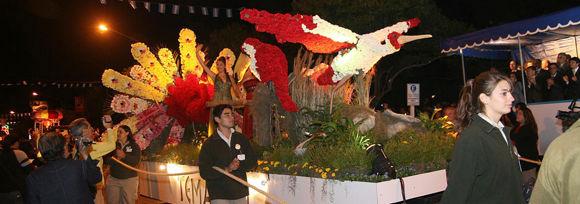 El bioparque Temaikén volvió a ganar el concurso de carrozas con una notable producción.
