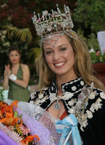 Gianina Florenzano, la nueva Reina de la Flor.