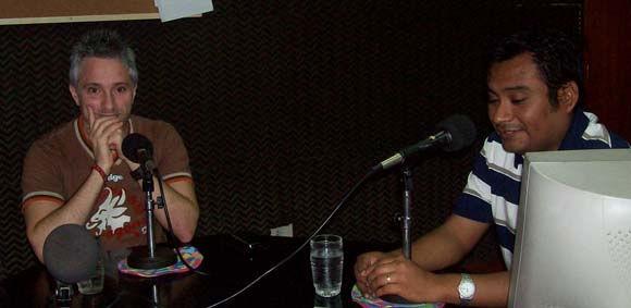 Matías Franchini fue entrevistado en el programa de la mañana de FM Santa María.