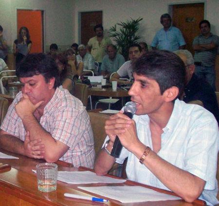 La mitad de la alocución de Carranza estuvo centrada en críticas al pattismo.