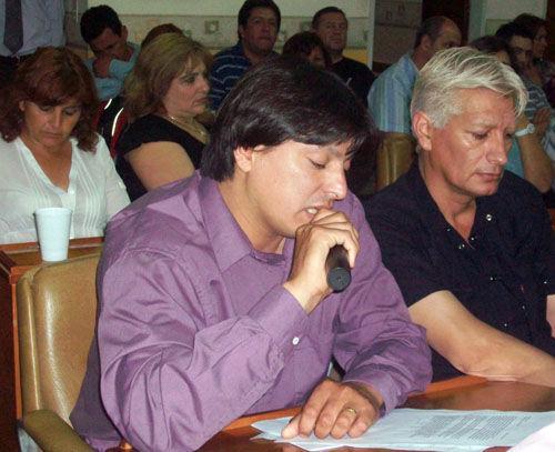 Romano debutó con una alocución en la que resaltó algunos logros de la gestión municipal.