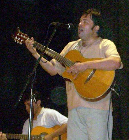 <p>Hernán Albornoz, una de las caras conocidas del concurso.</p>