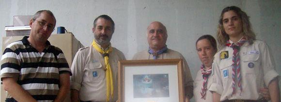 """El Grupo Scout """"Sagrada Familia de Belén"""" se sumó a esta aventura por el Bicentenario."""