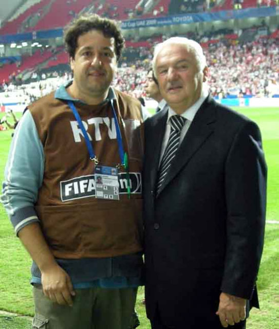 Fernando Moura junto a Fernando Niembro.