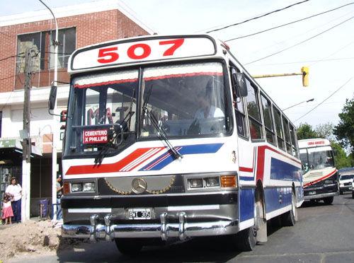La línea 507 dejó de circular este lunes y por tiempo indeterminado.