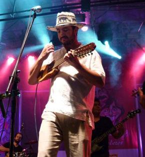 Mocoroa y sus músicos, de nuevo en Baradero.