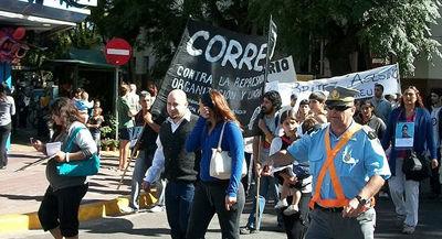 <p>La CORREPI se sumó al reclamo de la familia Ibiris.</p>