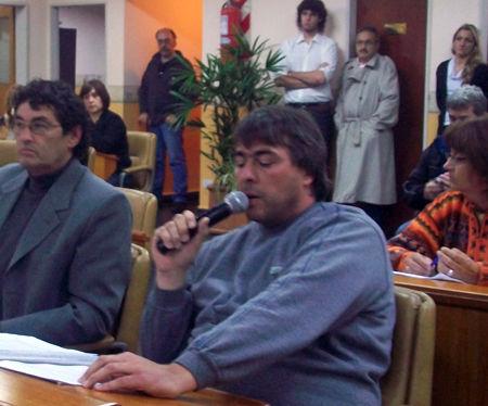 Alejandro Fedeli (AVE) defendió la labor de Fernández y cuestionó las motivaciones de Rognone.