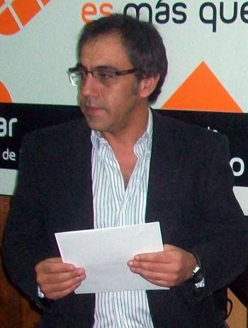 """""""No está el dinero para construir el edificio"""", aseguró Guzmán."""