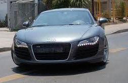 Los Audi robados son prototipos no aptos para la venta.