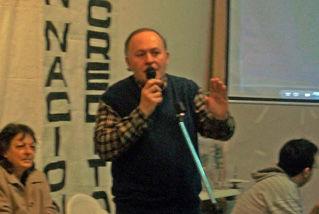 El titular de la Cosmopolita, Guillermo Ferrari, agradeció a diversas autoridades.