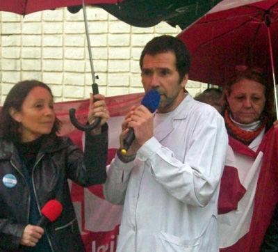 Alejandro Márquez repartió culpas entre la Provincia, el Municipio y el director del hospital.