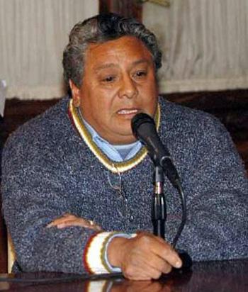 Luis Gerez recordó que Patti estaba presente cuando fue torturado.