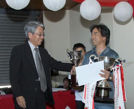 Alfredo Tamaki fue uno de los agricultores más premiados en el concurso de Nikkei.