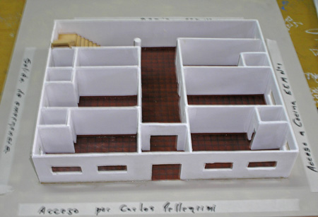La maqueta demuestra la viabilidad edilicia del proyecto.