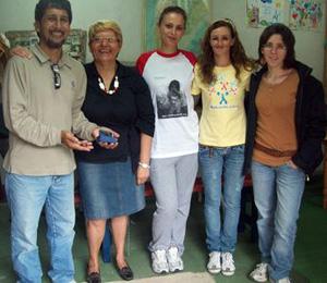 Humberto Delmagro volvió a recibir visitantes europeas en LEP.