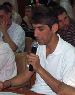 """Carranza garantizó la """"buena predisposición"""" del bloque del PJ."""