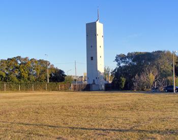 El terreno de Loma Verde está justo atrás del sanatorio Fleni.