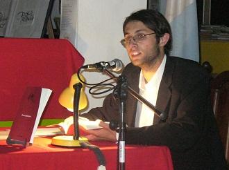 Mattos, en 2010, en la presentación de Pasos Abstractos.