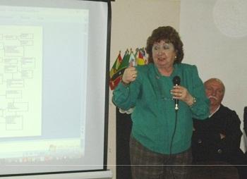 Cristina Minutolo instó a la comunidad escobarense a localizar el lugar donde pernoctó el prócer.