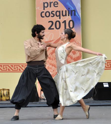 Mauro Dellac y Vanesa Méndez clasificaron como mejor pareja de baile estilizado.