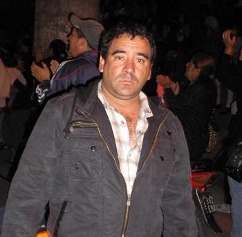 Luis Irigoitía, padre del chico asesinado el 12 de noviembre.