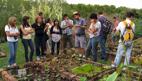 La uba abri la inscripci n a las carreras de jardiner a y for Estudiar jardineria