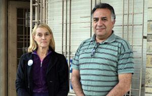 Claudia Consiglio y José Magallanes, las principales autoridades de Suteba en Escobar por los próximos cuatro años.