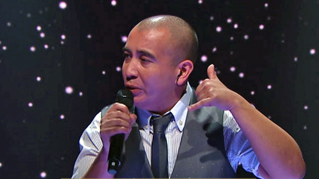 Villalba hizo su rutilante presentación en la pantalla chica de la Argentina el jueves 23 de abril.