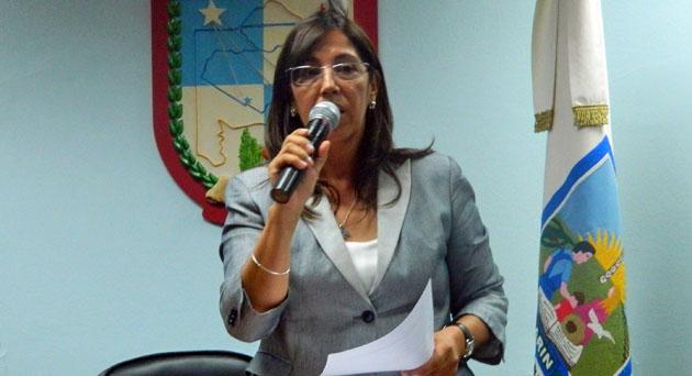 """De licencia. Cecilia Guzmán dejó la presidencia del Consejo Escolar """"por tiempo indeterminado"""" y """"problemas de salud""""."""