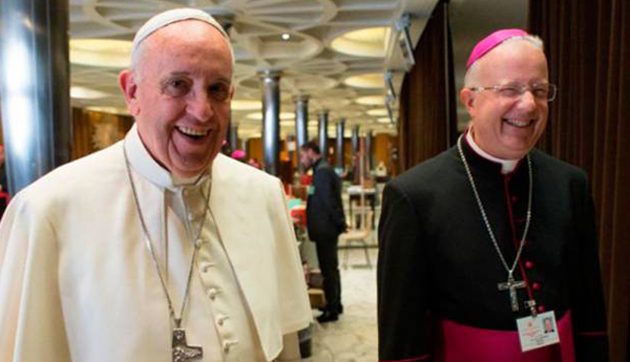El elegido. El Papa Francisco nombró a monseñor Pedro para tomar las riendas de Zárate-Campana.