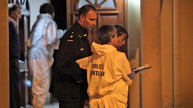 Lamentable. Alicia Tomás (48) fue asesinada a puñaladas. Su ex esposo es el principal sospechoso.