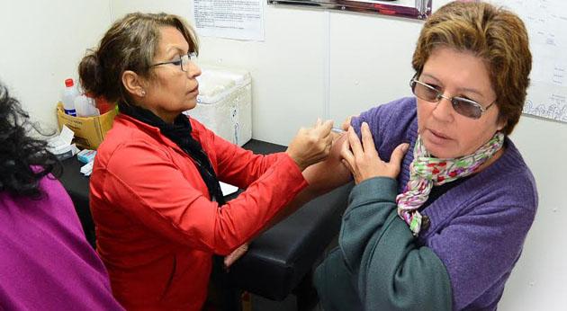 Campaña efectiva. Desde abril, alrededor de 17 mil personas ya fueron vacunados contra la gripe.