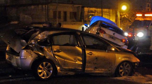 Picada fatal en Panamericana: un muerto y cuatro heridos