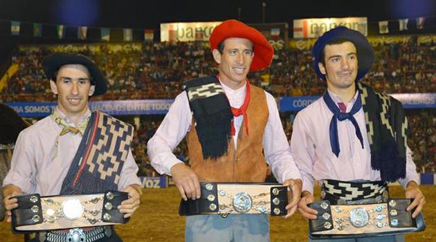 Ricardo Pucheta tetracampeón adentro 2