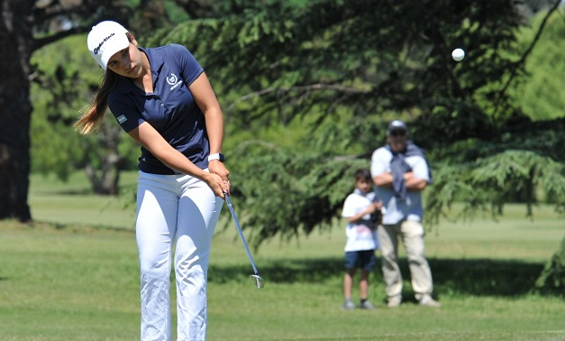 El golf también sumó: bronce para la dupla Anacona-Fernández