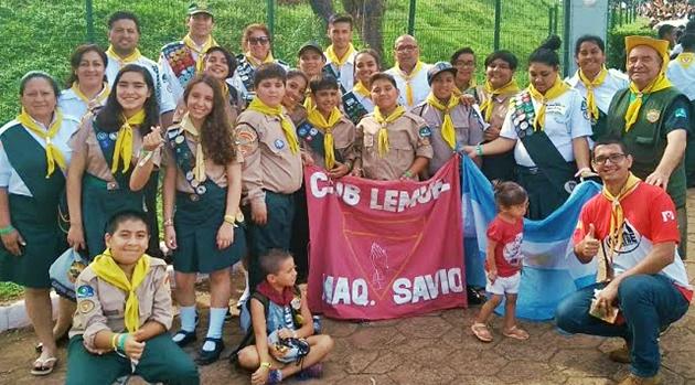 Al aire libre. El grupo acampó durante una semana en la localidad brasileña de Barreros.